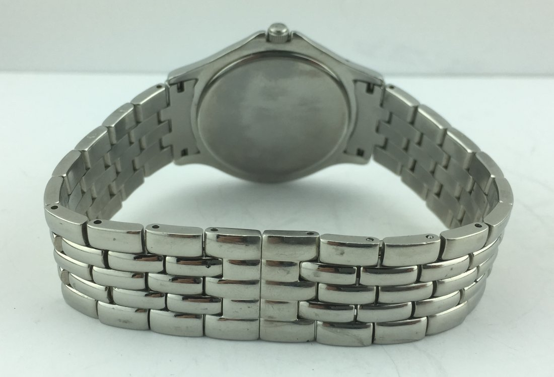 Movado Museum Men's Watch Stainless Steel Band 84E40863 - 4