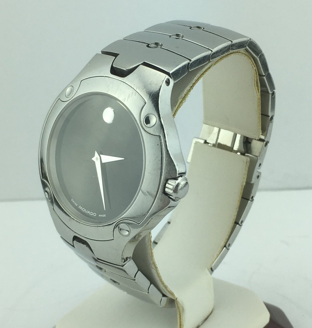 Movado Sports Edition Stainless Men's Watch 84G11892 - 3