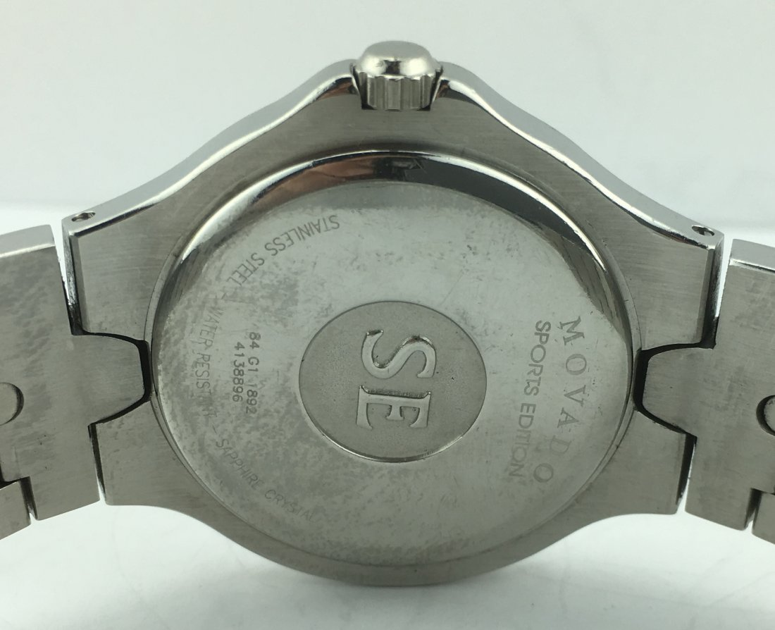 Movado Sports Edition Stainless Men's Watch 84G11892 - 5