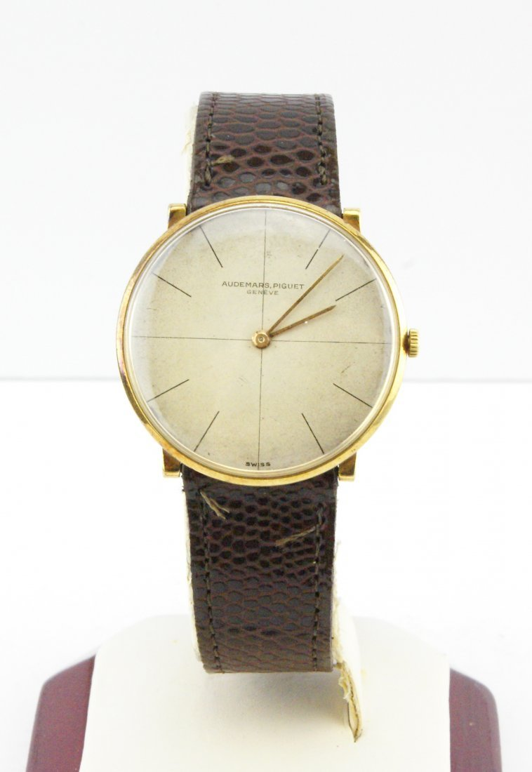 Audemars Piguet Vintage watch ca 1960s 18k Yellow Gold