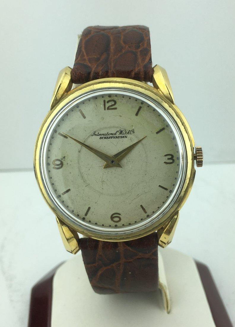 International Watch Co. Schaffhausen Cal.88 18k Gold