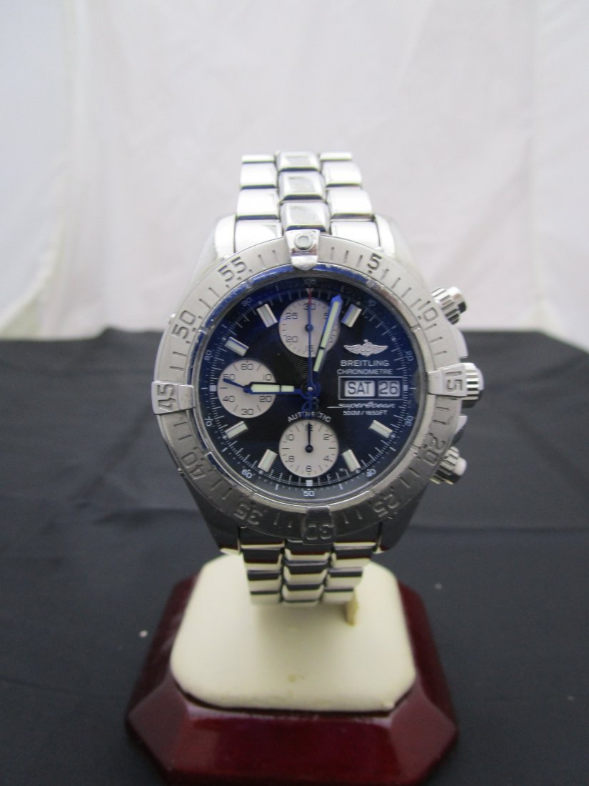 Breitling SuperOcean Stainless Steel Chronograph A13340