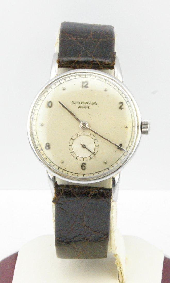 Men's Patek Philippe Calatrava Stainless Steel Watch