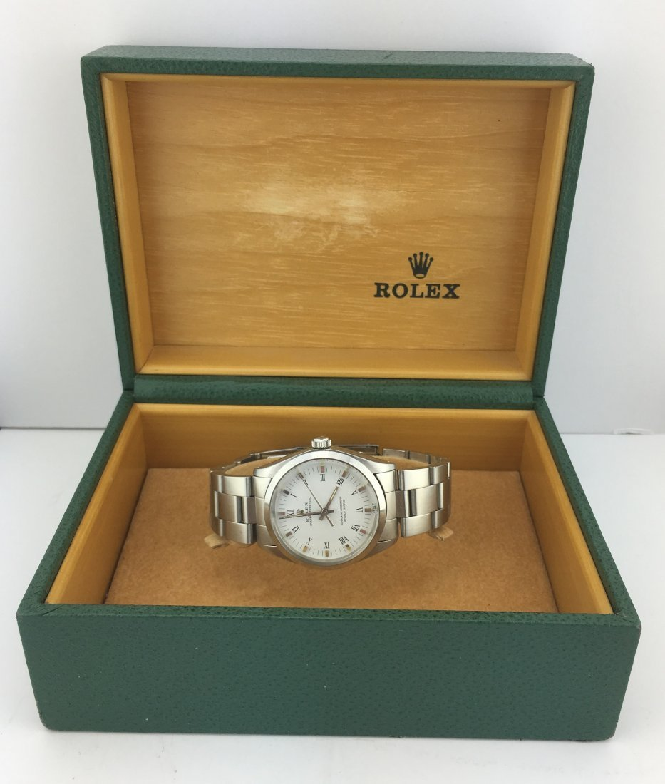 Men's Rolex Oyster Perpetual 1002 Stainless Steel