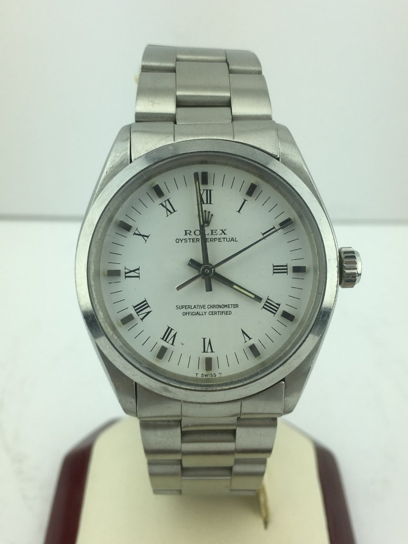 Men's Rolex Oyster Perpetual 1002 Stainless Steel - 2