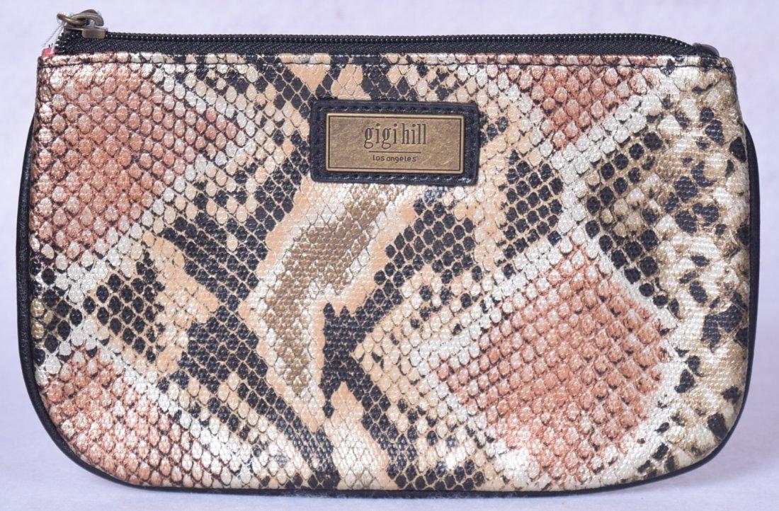 Gigi Hill The Small Scarlett Cosmetic Bag Sahara