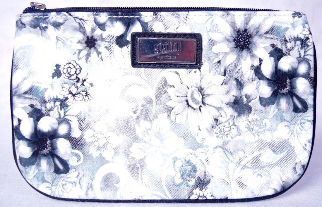 Gigi Hill The Small Scarlett Cosmetic Bag Fleur De Lis