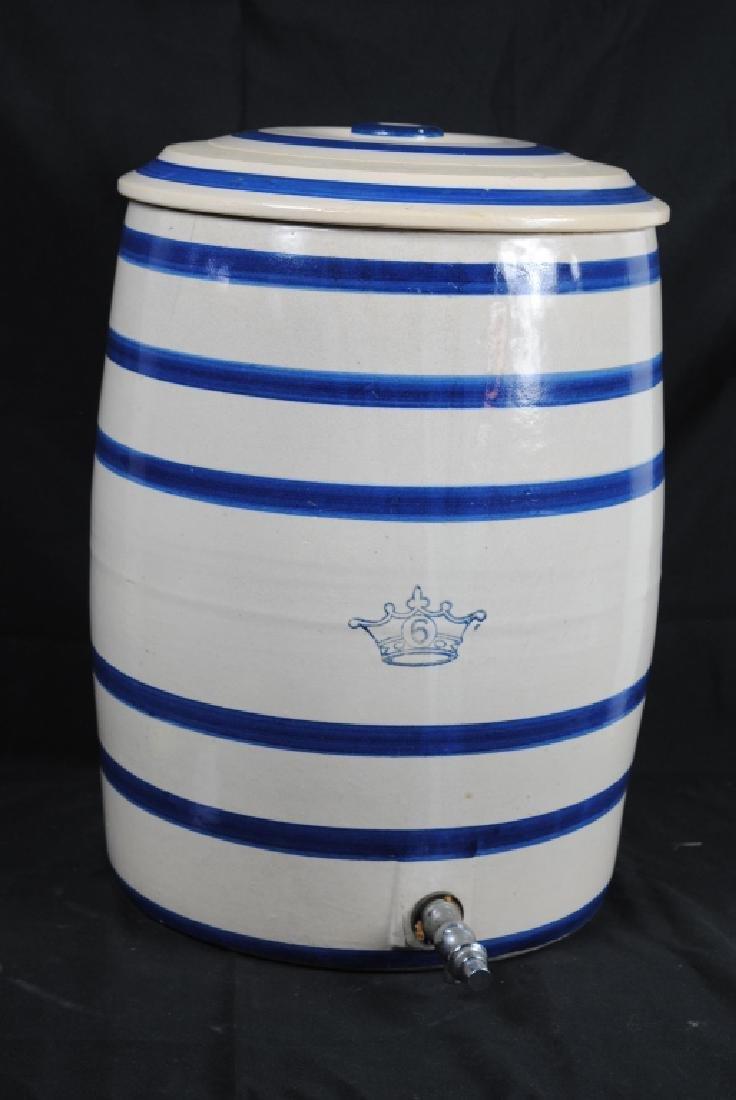 Robinson Ransbottom No. 6 Salt Glazed Water Cooler