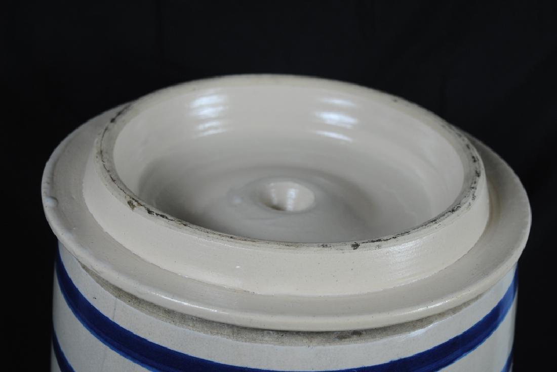 Robinson Ransbottom No. 6 Salt Glazed Water Cooler - 5