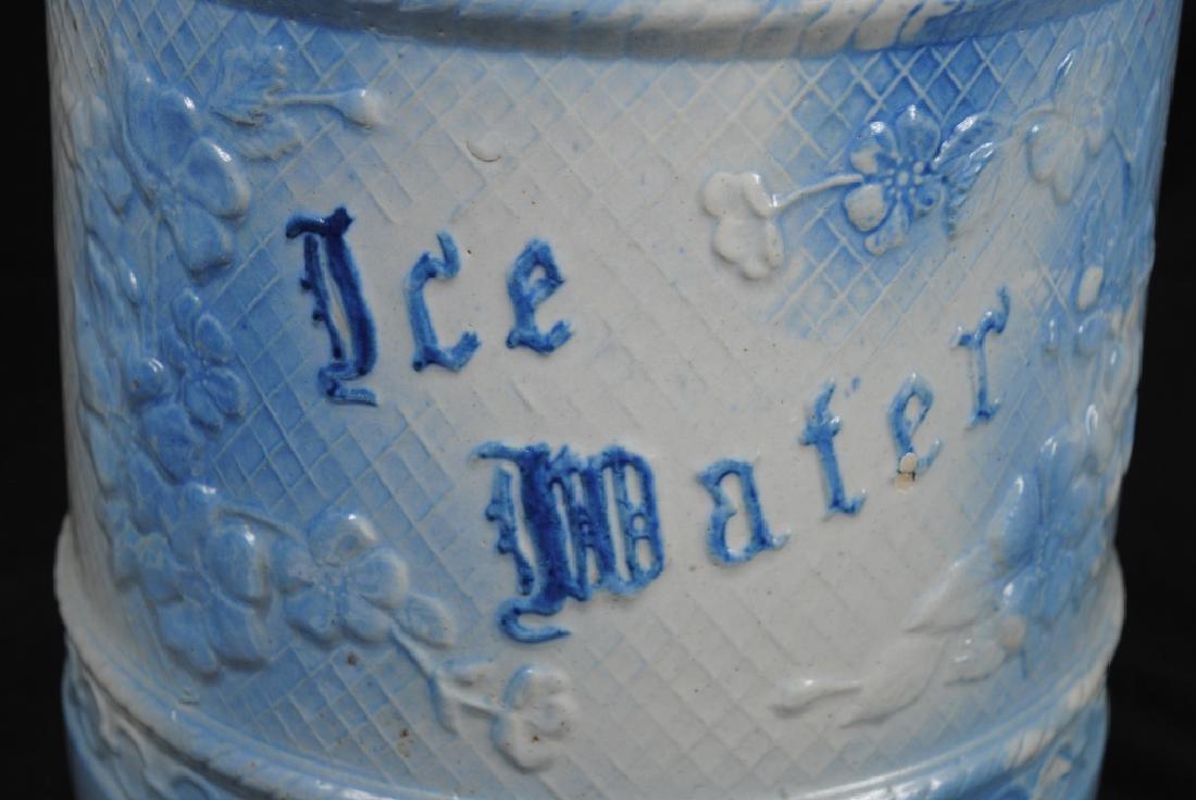 Salt Glazed No. 4 Ice Water Cooler - 2