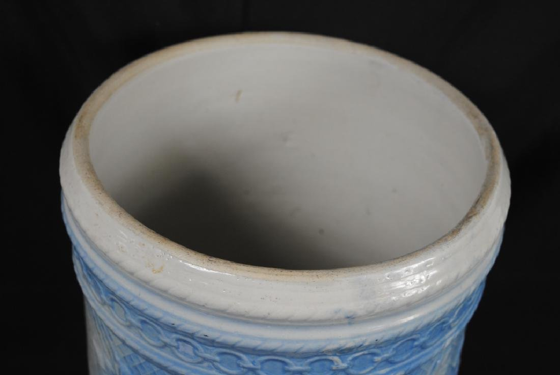 Salt Glazed No. 4 Ice Water Cooler - 3