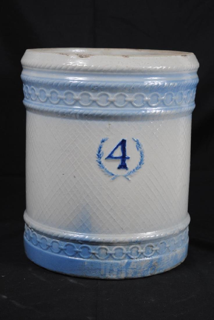 Salt Glazed No. 4 Ice Water Cooler - 4
