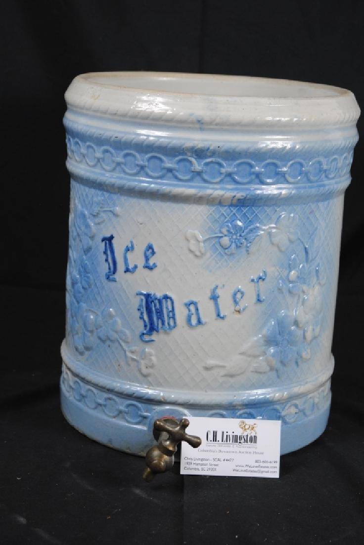Salt Glazed No. 4 Ice Water Cooler - 8