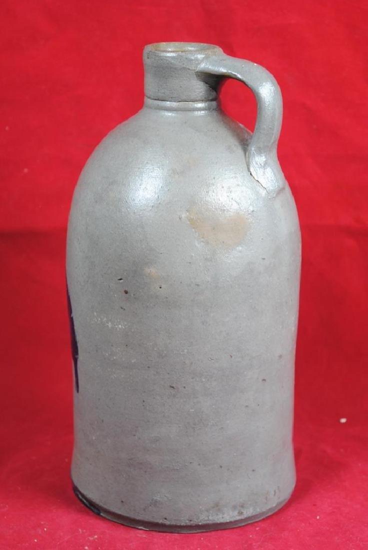 Cobalt Decorated Salt Glazed Bottle - 3