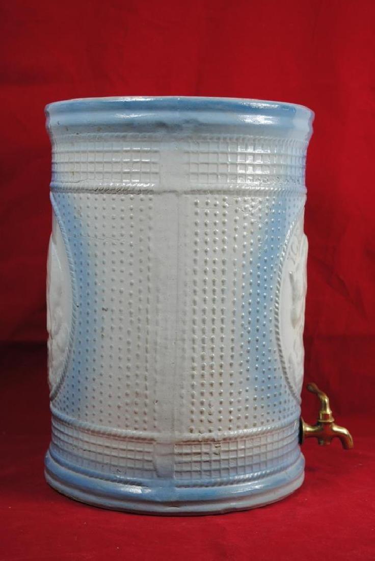 Stoneware Ice Water Cooler w/ Polar Bear - 5