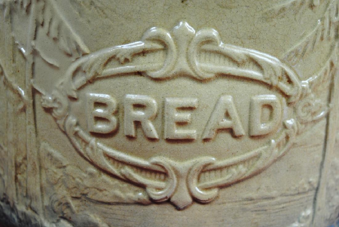 Stoneware Bread Bowl w/ Pineapple Rim - 2