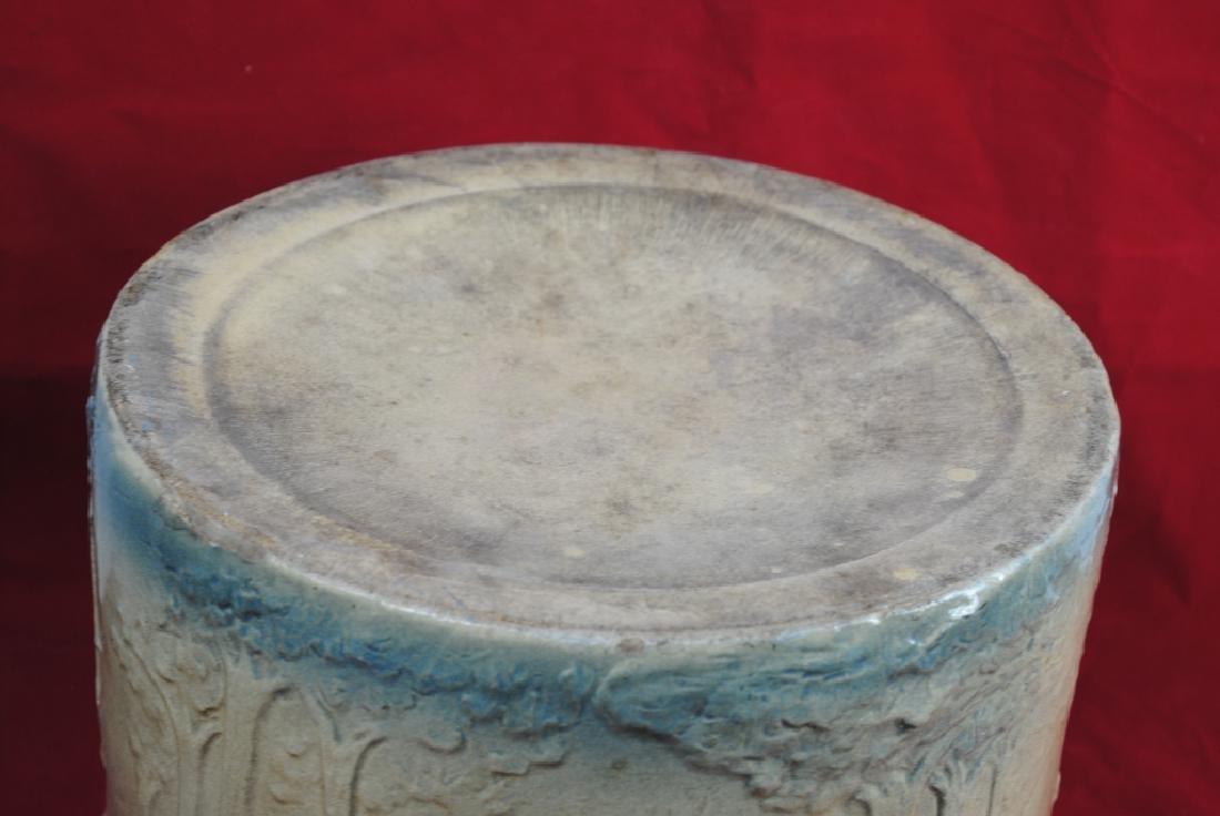 Stoneware Bread Bowl w/ Pineapple Rim - 6