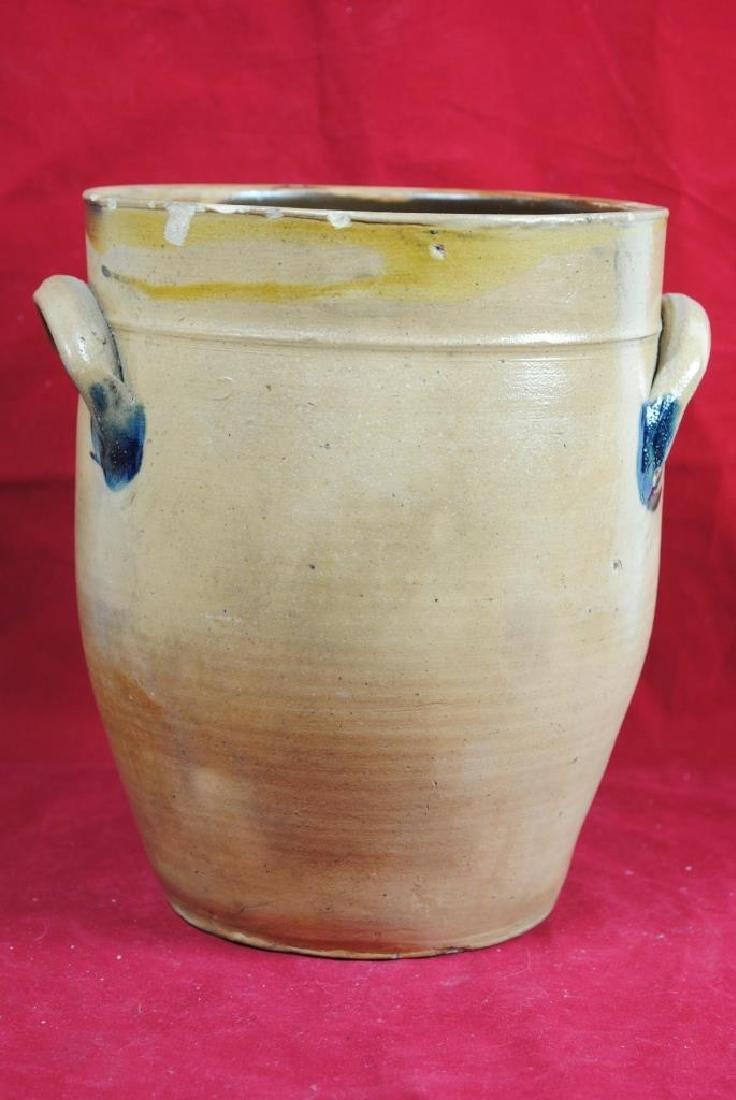 N. Clark Athens N.Y. Stoneware Crock - 6