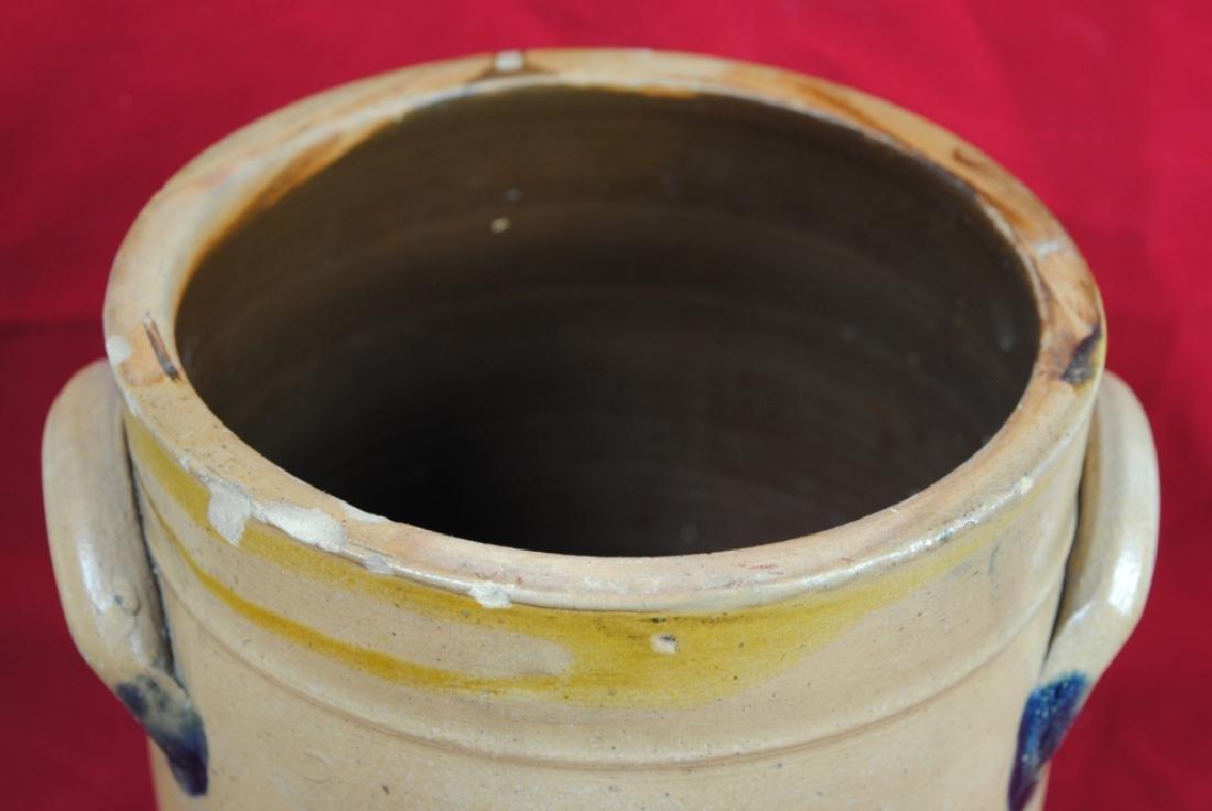 N. Clark Athens N.Y. Stoneware Crock - 7