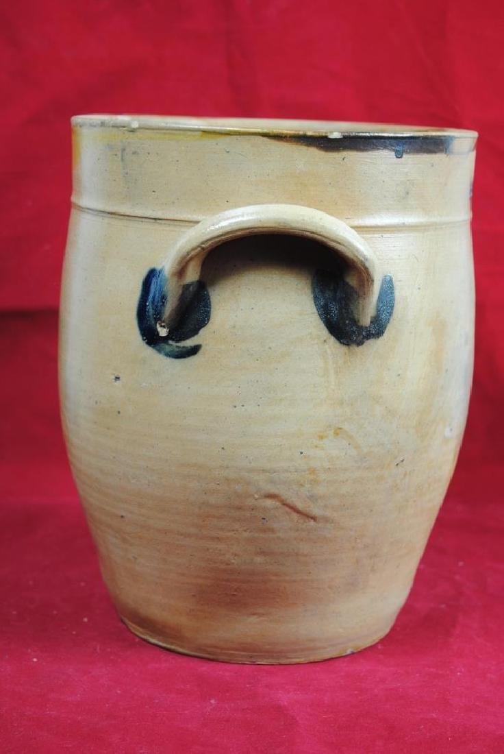 N. Clark Athens N.Y. Stoneware Crock - 8