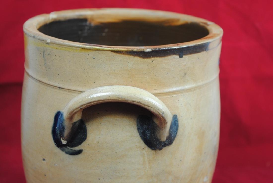N. Clark Athens N.Y. Stoneware Crock - 9