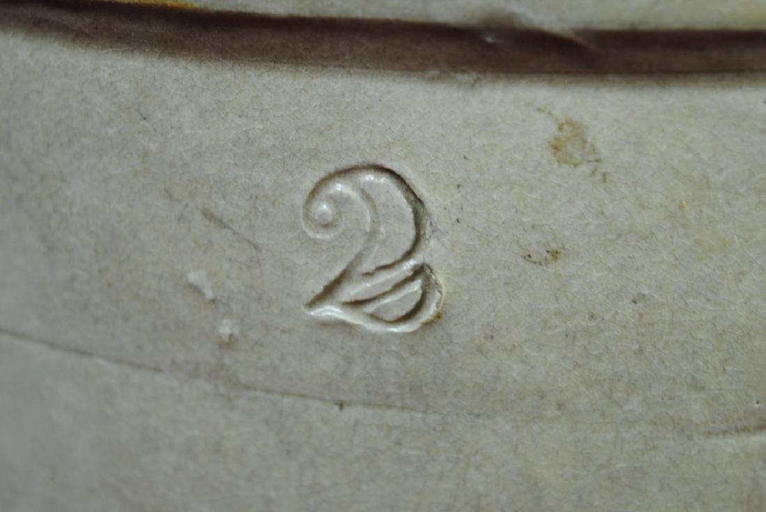 Two-Gallon Salt Glazed Crock w/ Bird on Branch - 2