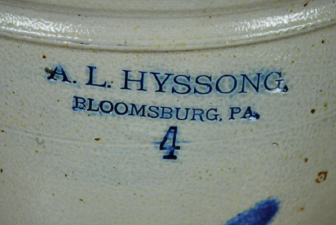 A.L. Hyssong  4 Gallon Crock - 2