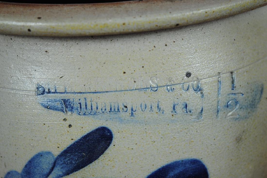 Sipe Nichols  Co. 1.5 Gallon Crock w/ Decoration - 3
