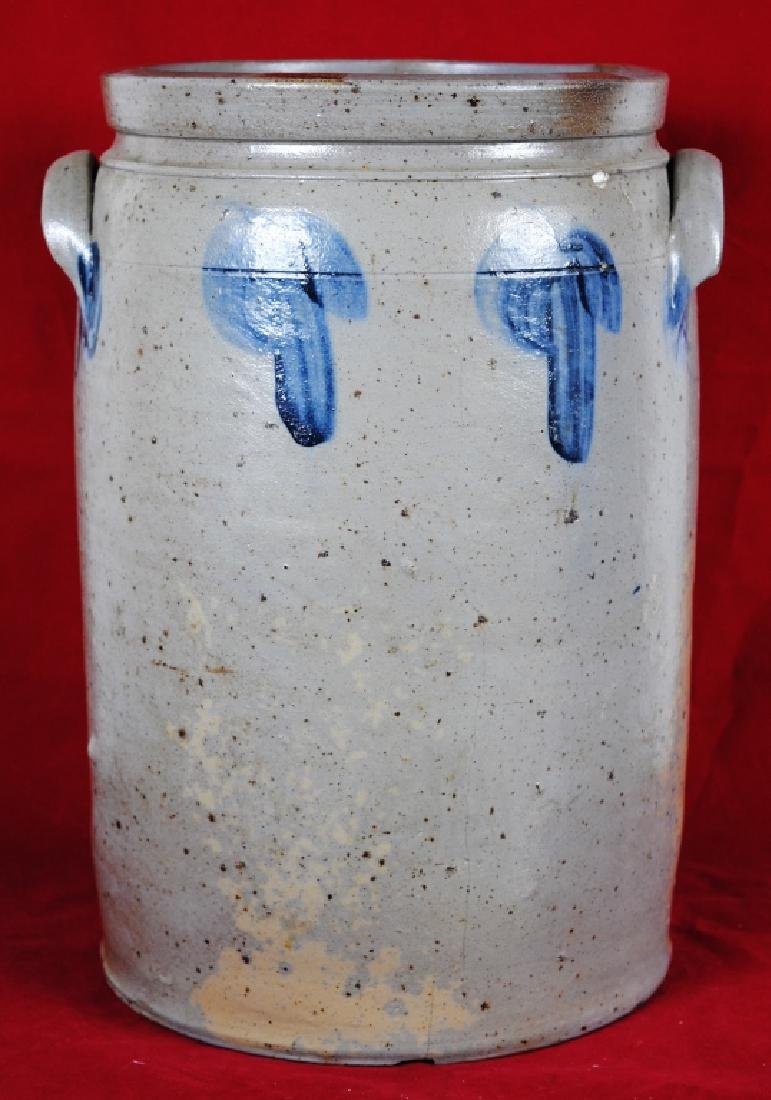 Cobalt Decorated Crock