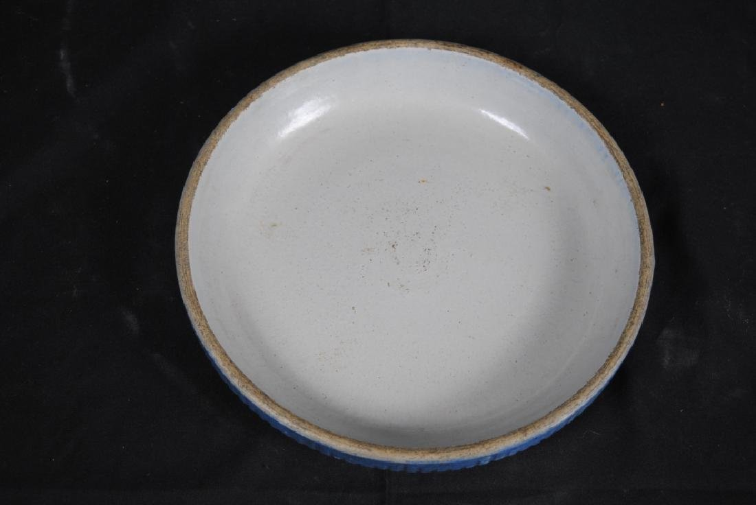 Salt Glazed Crockery Lid - 3