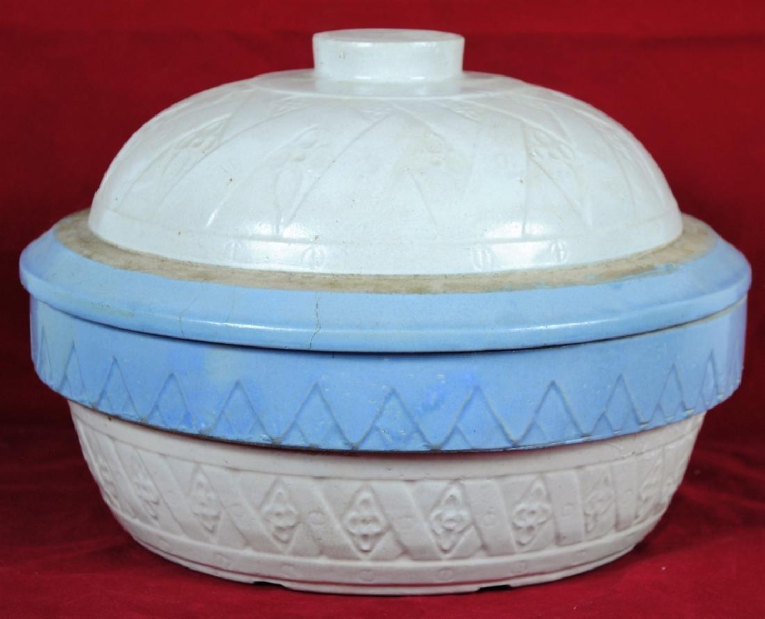 Stoneware Lidded Bowl