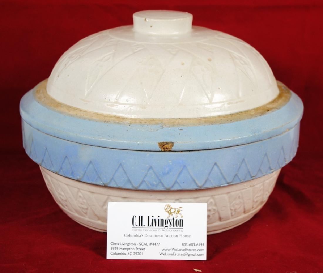 Stoneware Lidded Bowl - 8