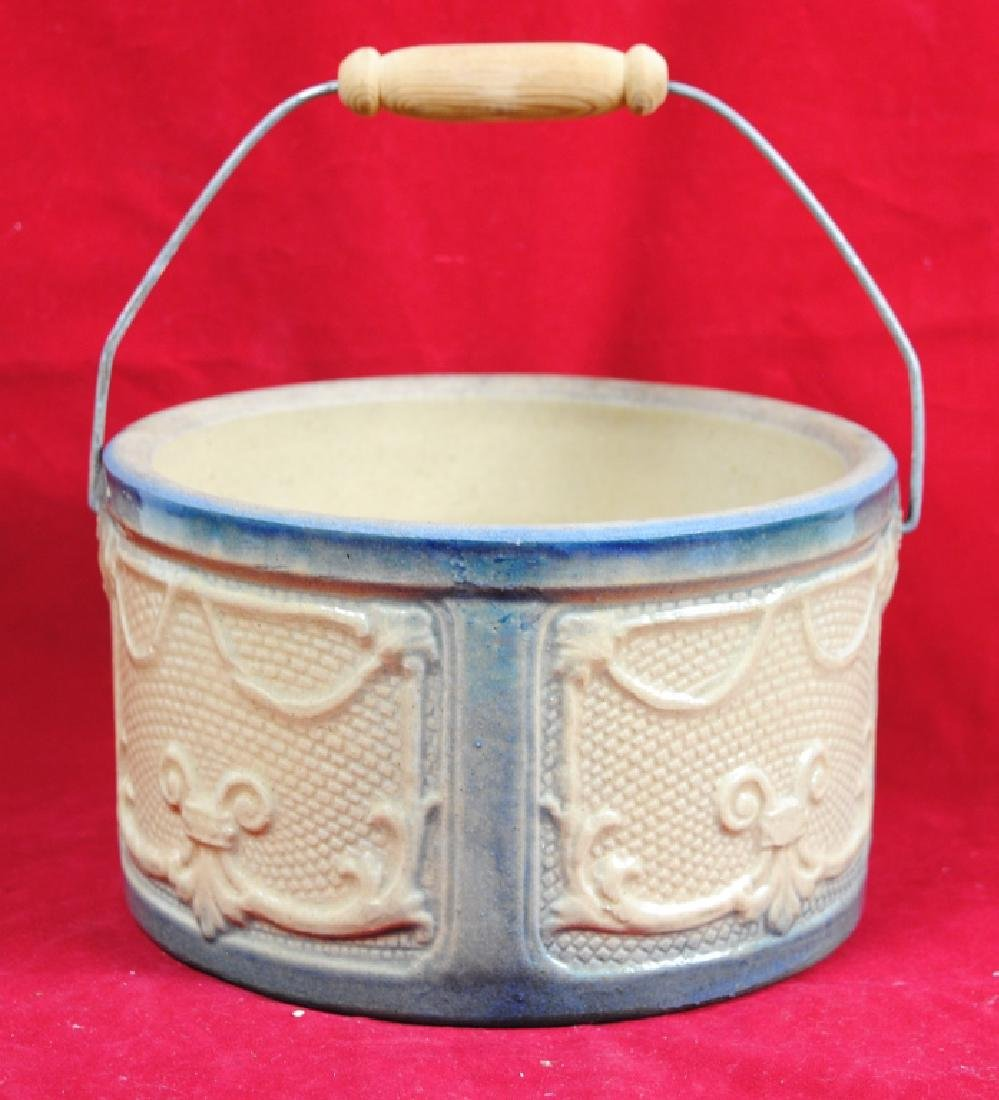 Stoneware Bowl w/ Handle