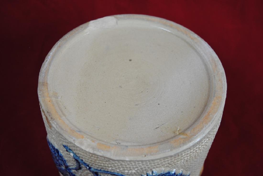 Whites Utica No. 2 Butter Crock w/ Lid - 10