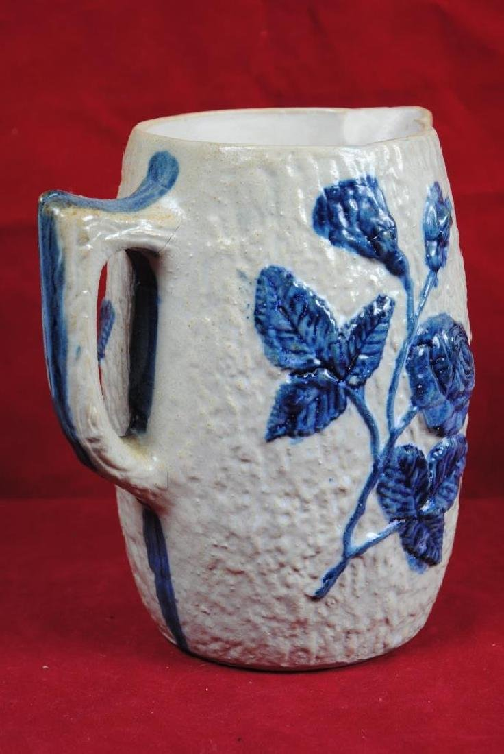 White's of Utica Pitcher w/ Roses - 2