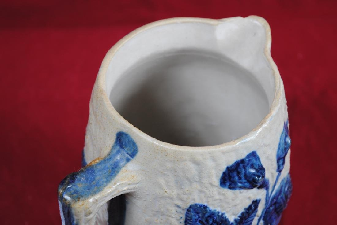 White's of Utica Pitcher w/ Roses - 3