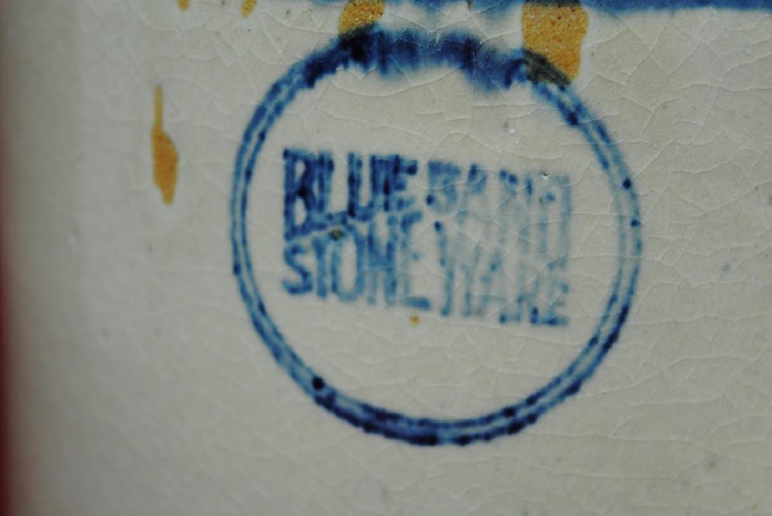 Blue Band Stoneware Jug - 2