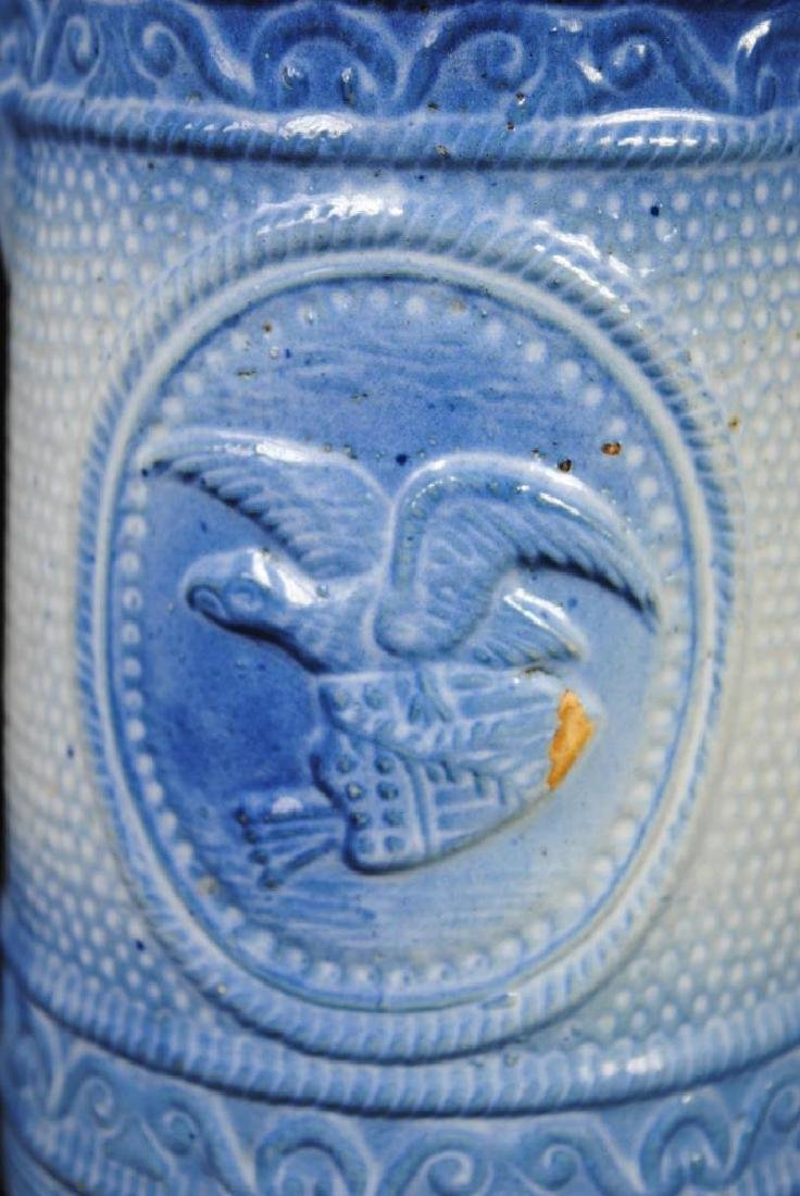 Salt Glazed Pitcher w/ American Eagle Decoration - 2