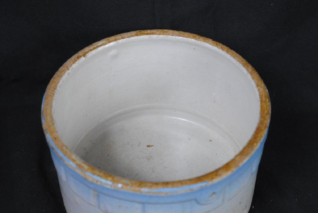 Salt Glazed Butter Crock - 2