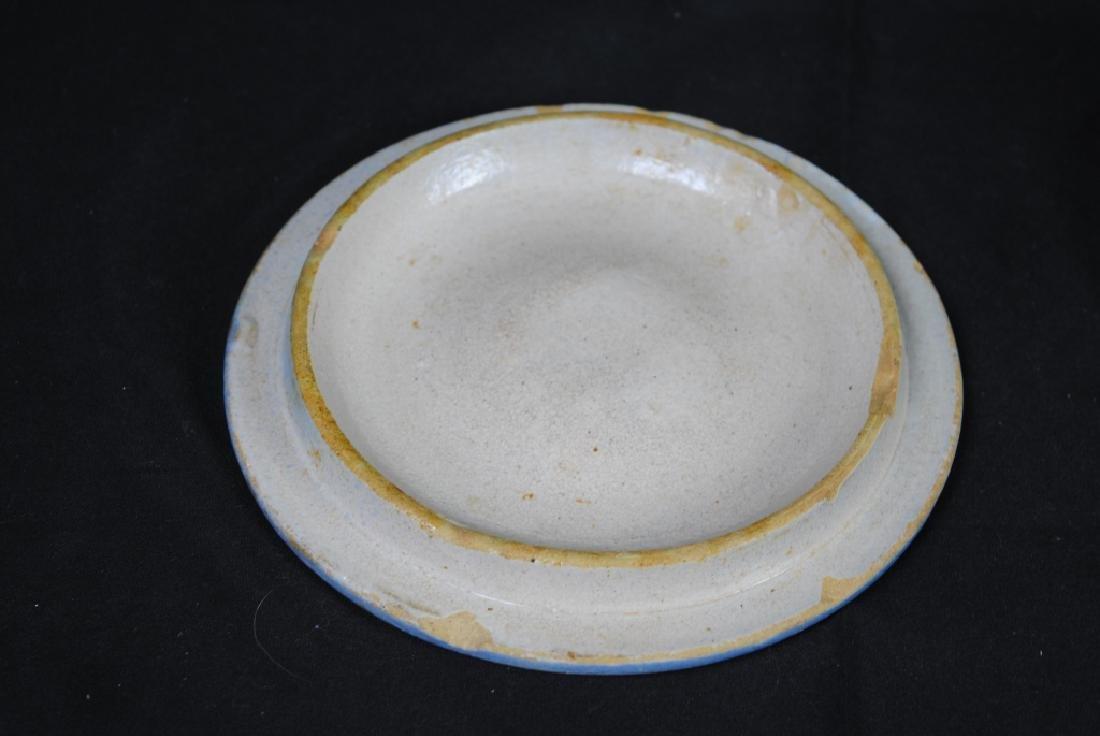 Salt Glazed Butter Crock - 4