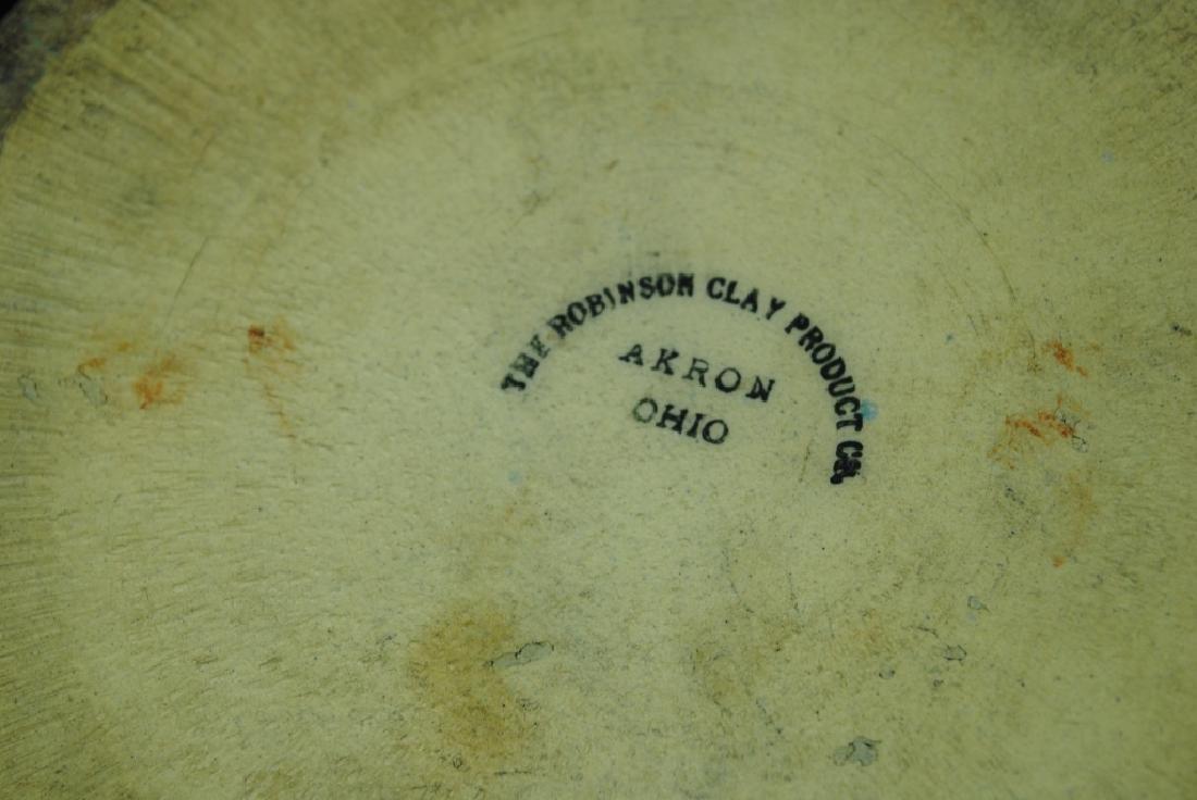 Robinson Clay Salt Glazed Butter Crock w/ Grapes - 6