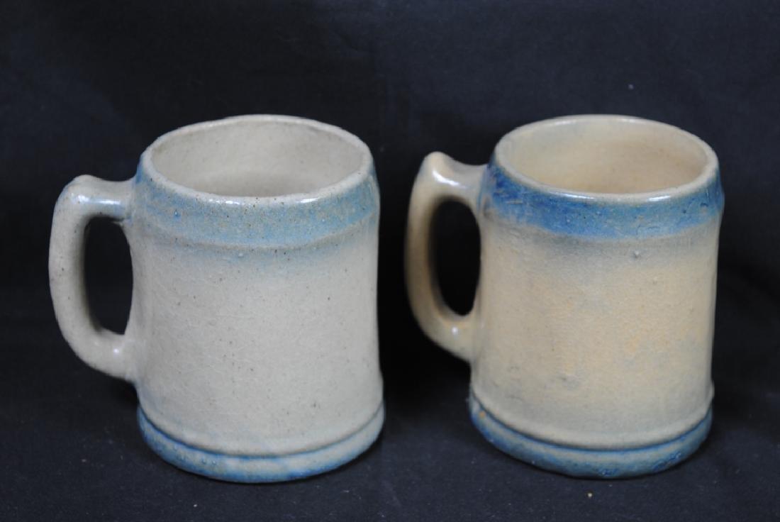 Pair of Salt Glazed Mugs