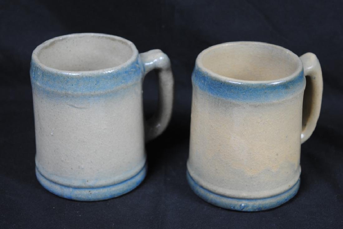 Pair of Salt Glazed Mugs - 4