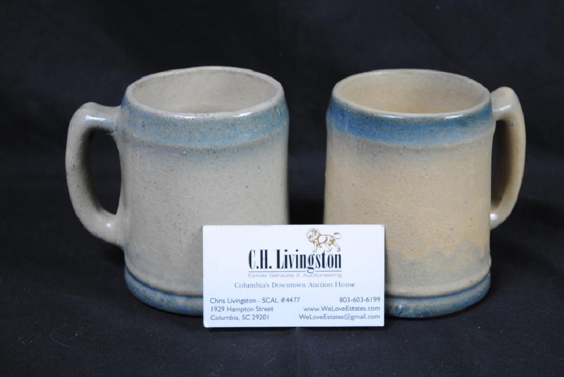 Pair of Salt Glazed Mugs - 7