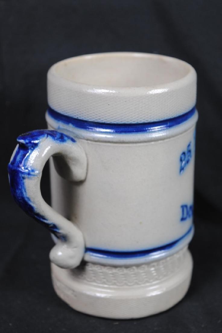 Turnfest CNY Pottery Utica N.Y. Stoneware Mug - 3