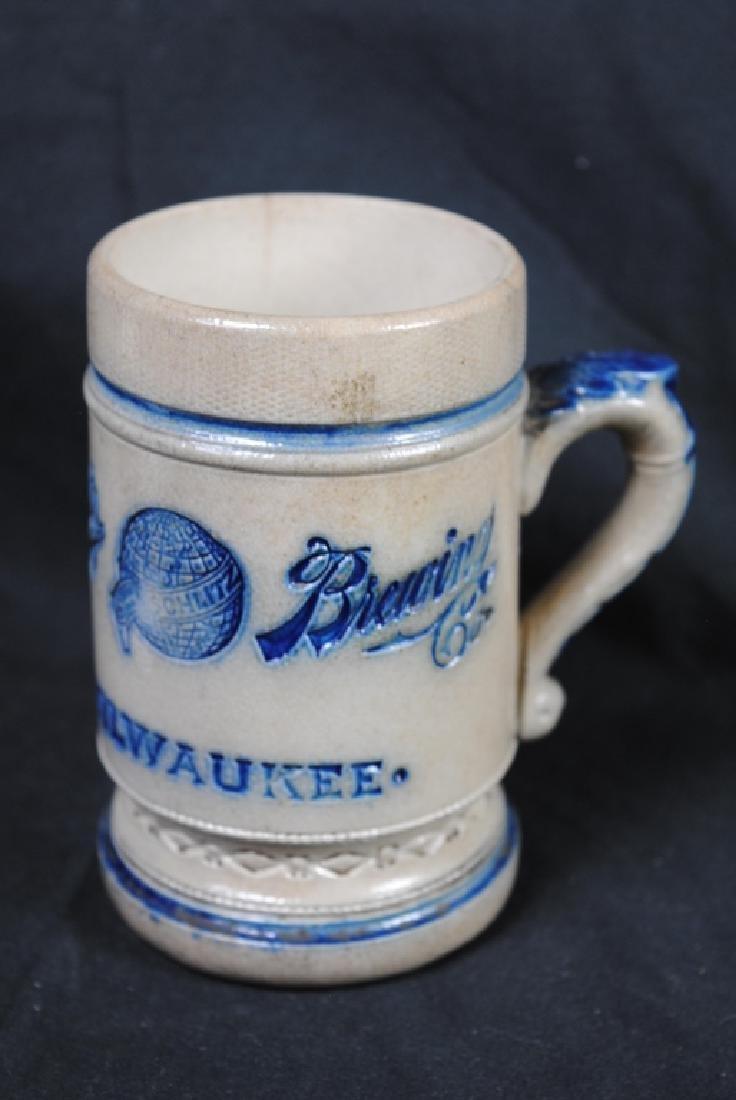 Schlitz Salt Glazed Advertising Mug
