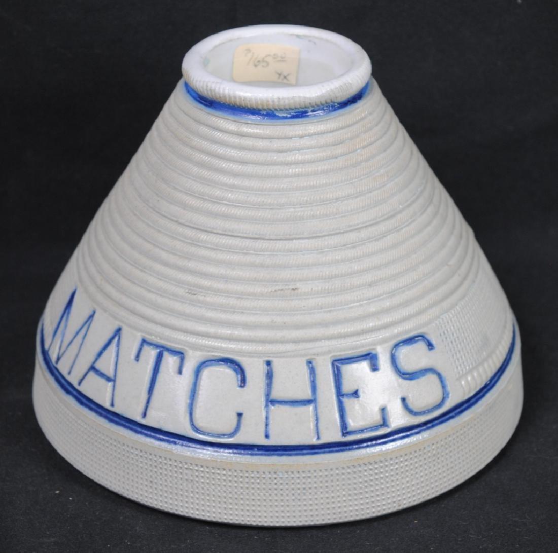 Whites of Utica Matches Holder & Striker