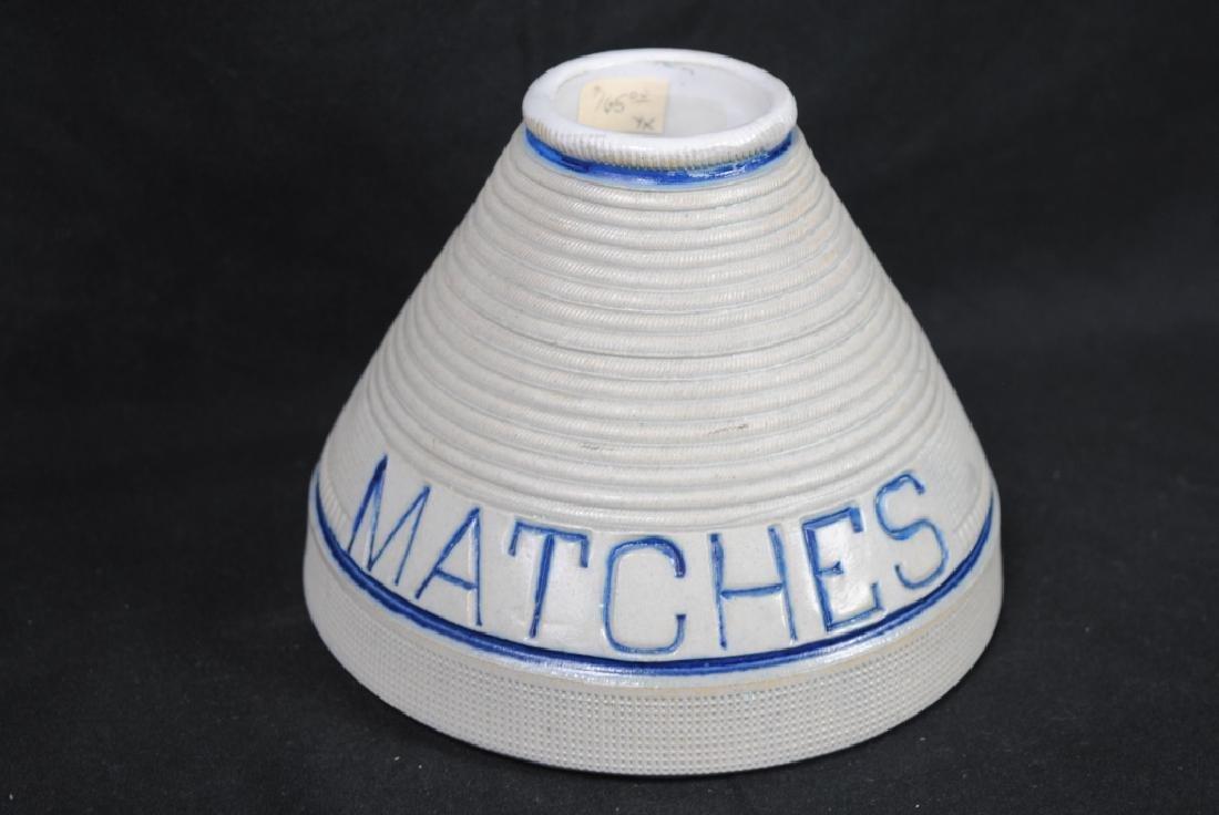 Whites of Utica Matches Holder & Striker - 2