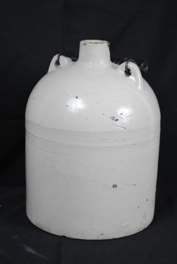Salt Glazed Jug w/ Handle