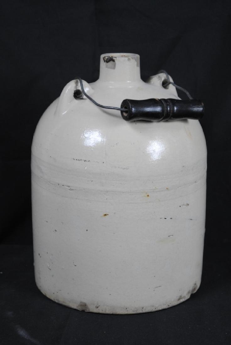 Salt Glazed Jug w/ Handle - 3
